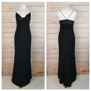 Vtg 1997 Femme de Carriere 36 Black Evening Gown